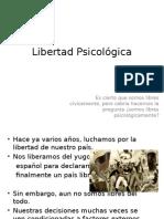 Libertad Psicologica