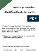 Derecho Procesal I - XV