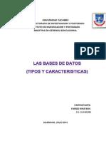 Ensayo Sobre La Bases de Datos Faride.
