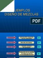 4.1 Ejemplos de Diseño de Mezclas