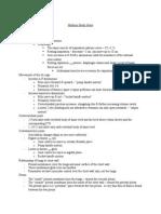 Midterm Study Notes