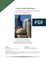 Islamic Finance in The Netherlands