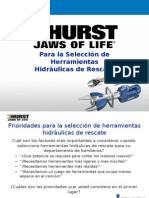Rescue Tool Selection Priorities - Spanish -Peru