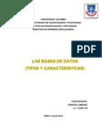 Teresita Base de Datos