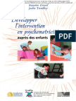 Développer l'intervention en psychomotricité