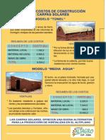 2. Modelos y Costos de Construccion de Carpas Solares
