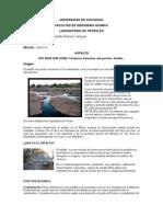 ASFALTO 414 y Contaminacion