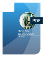 Client Side Authentication Tutorial - Max DeAngelis