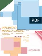 Implementación Del Modelo Canvas