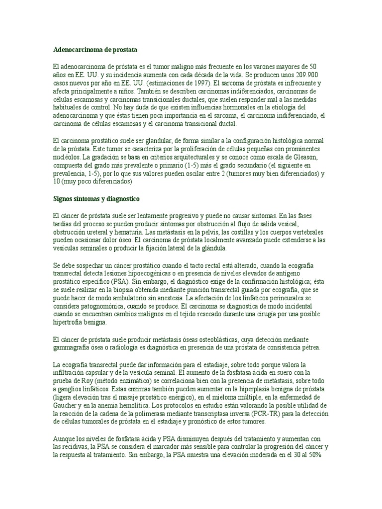 preparación transrectal de próstata ecológica