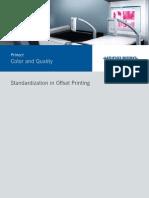 Standardization in Offset Printing