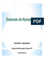 15.- Sistemas de Numeracion