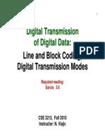 Line Block Coding