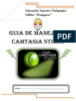 Guia de Manejo de Camtasia Studio