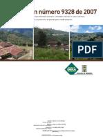 Resolución 9328 de 2007 - Densidades Máximas Suelo Rural
