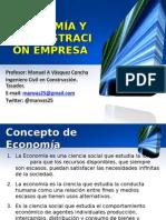 Economia y Administracion Diurno