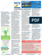 Pharmacy Daily for Mon 20 Jul 2015 - S8 inconsistency slammed, Advanced practice papers, Get the hyphen right, Weekly Comment and much more