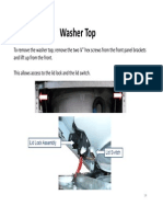 Mabe Washer Top Lid Lock ‐ Operation