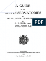 A Guide to the Old Observatories,1920