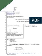 Global Royalties, Ltd. et al v. Xcentric Ventures, LLC et al - Document No. 7