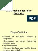 08.1 Control Alimenticio de Perros Geriátricos