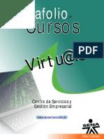 Portafolio Cursos Virtuales CESGE