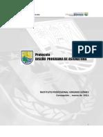 Protocolo Diseno Programa de Asignatura