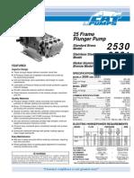 CAT Pumps 25 - Catálogo