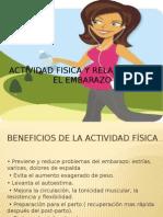 Actividad Fisica y Relajacion en El Embarazo