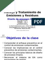 Clase 2 - Dise+¦o de procesos limpios