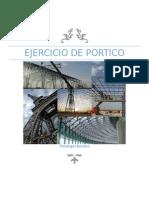 Ejercicio de Portico