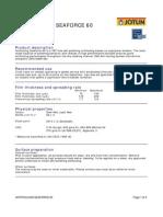 Copy of Tds - Antifouling Seaforce 60 - English (Uk) - Issue