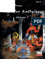 Khan's Press Monster Anthology Volume 1