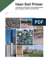 NCRS Urban Soil Primer