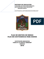 Plan Riesgo 2015 Cll