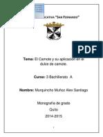 monografia Camote