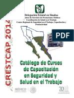 Catálogo de Cursos de Capacitacion-2014-CRESTCAP