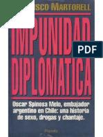Impunidad Diplomatica Francisco Martorell
