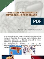 Nutricion, Crecimiento y Metabolismo Microbiano