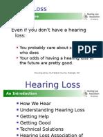 hearing loss association