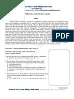 Soal Spmk Ub 2014 Ipa Terpadu Kode 26