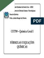 Aula 6 Formula Equação Quimica(1)