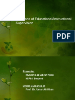 Functions of Supervision Original