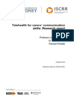073 Telehealth for Carers Communication Skills