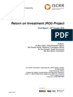 Iscrr Impact Assessment Report