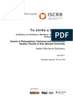 018 to Strike a Balance - WorkSafe History