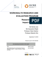 008 Project 4 WorkHealth Impact Evaluation