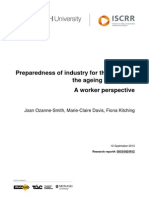 042 Preparedness of Industry for the Safety of the Ageing Workforce a Worker Perspective