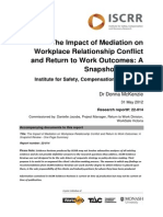 022 Mediation Interventions and RTW
