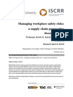 022 Managing workplace safety risks a supply chain perspective